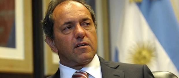 Ex gobernador de Buenos Aires, Daniel Scioli