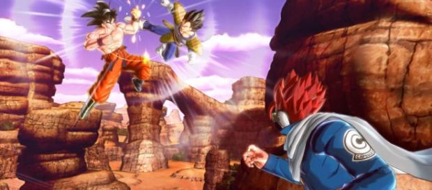 Inicio del videojuego Dragon Ball Xenoverse