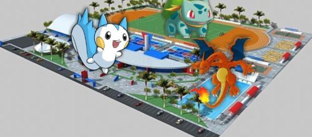 Os atletas estão querendo capturar pokémons na Vila Olímpica