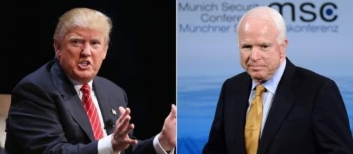 Donald Trump condannato dal Senatore John McCain