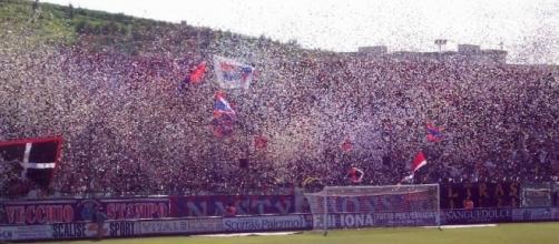 I tifosi del Crotone, squadra neo promossa in A.