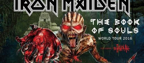 Iron Maiden will open The Book Of Souls World Tour in Florida, USA ... - ironmaiden.com
