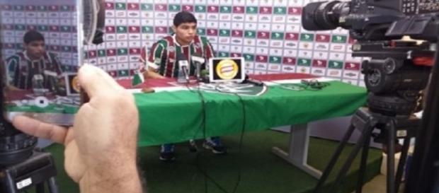 Cláudio Aquino: sexto reforço do Fluminense (Foto: Divulgação FFC)