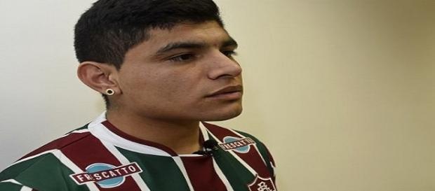 Claudio Aquino: um dos seis últimos reforços do Flu (Foto: Mailson Santana / Divulgação FFC)