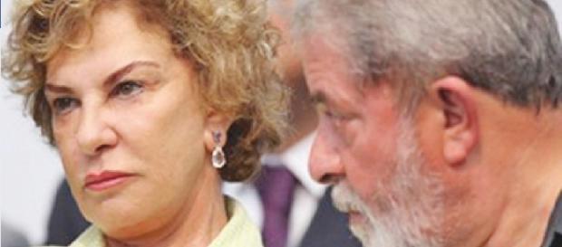 Marisa Letícia e Lula - Foto/Google