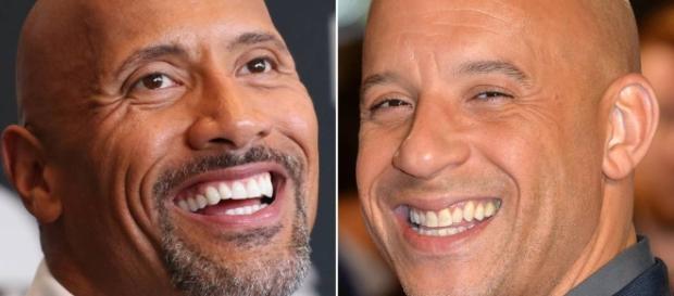 The Rock recua após briga com Vin Diesel: 'Coisa de família'