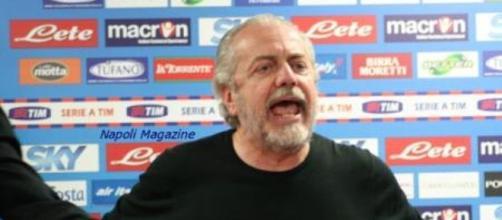Aurelio De Laurentiis, 63 anni, Presidente del Napoli