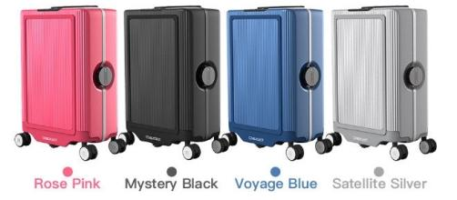 Cowarobot R1 is the world's first self-driving motorized smart suitcase (via Indiegogo/Cowarobot R1)