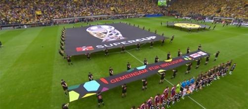 DFL-Supercup tra Bayern München e Borussia Dortmund.