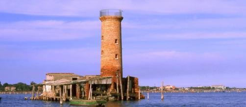 Fotografia del Faro Spignon a Venezia