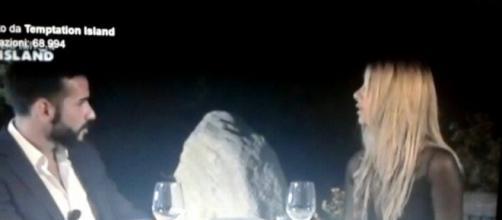 Roberto Ranieri a tavola con Melissa Costagnoli