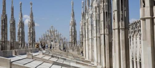 Turista americano lasciato sul tetto del Duomo di Milano per una notte