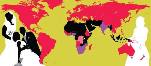 Where in the world is polygamy legal? Map shows countries still ... - metro.co.uk