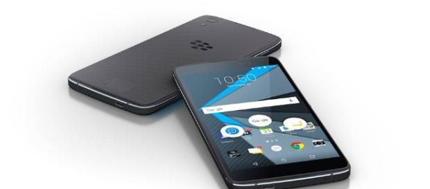 BlackBerry DTEK50 in pictures.