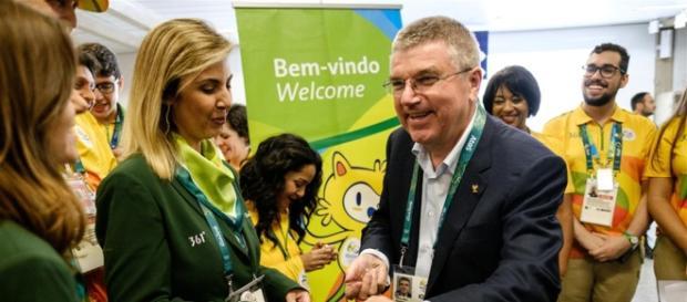 El presidente del Comité Olímpico Internacional, Thomas Bach arribó a Río de Janeiro con plena confianza en que los JJOO serán fantásticos