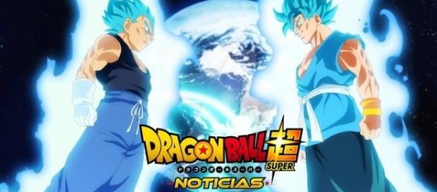 Fan art con Goku y Vegeta con la ropa del final de Z