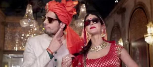 Kala Chashma song released, Sidharth Malhotra & Katrina Kaif (Youtube screen grab)