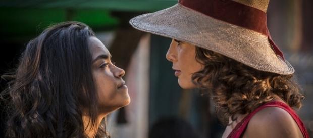 Revista diz que Luzia e Tereza são irmãs (Divulgação/Globo)