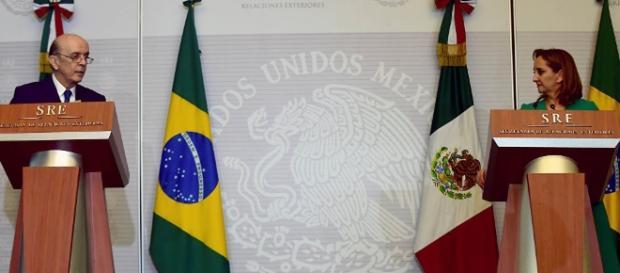 Serra faz comentário infeliz em evento com ministra das Relações Exteriores do México
