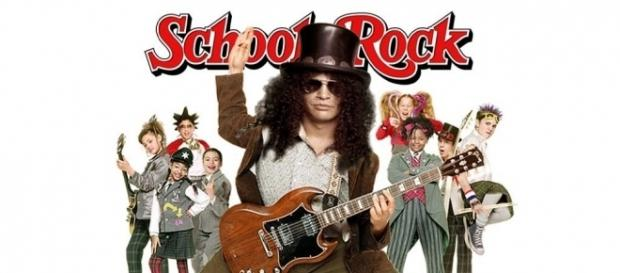Slash in School of Rock Pictures