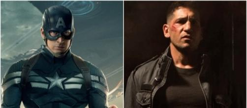 Avengers Infinity War podría unir a The Punisher y Capitán América contra un villano común