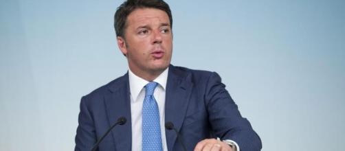 Il Premier Mattero Renzi al Consiglio dei Ministri