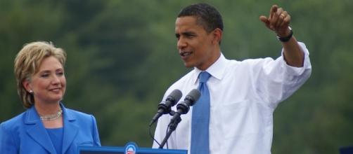 Obama exaltou qualificação de Hillary para assumir o cargo de presidente (Foto: Marc Nozell)