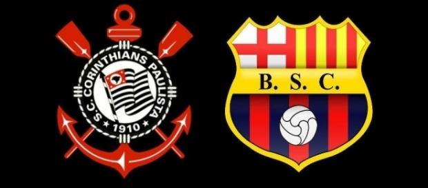 Corinthians vai jogar contra o Barcelona