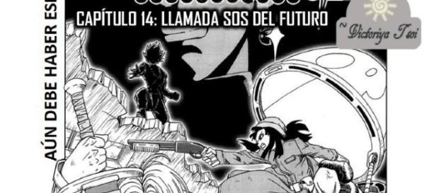 Imagen de la portada del manga 14
