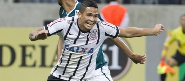 Luciano ,jogador do Corinthians desde 2014