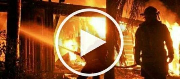 Pożar meczetu na przedmieściach Tuluzy