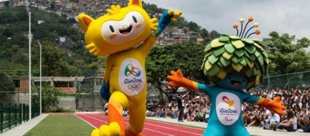 Vinicius e Tom, mascotte di Rio 2016
