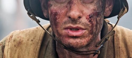 Andrew Garfield en su interpretación del soldado Desmond Doss/ Imagen de Google imágenes