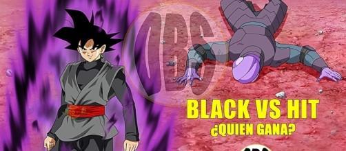 imagenes referencial de un duelo de hit vs black