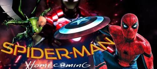 Nueva imagen de Peter Parker volando por los aires en el set de 'Spider-Man: Homecoming'
