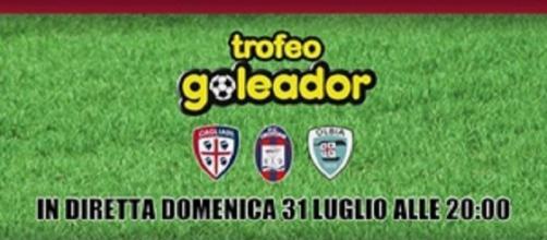 Trofeo Goleador tra Cagliari, Crotone e Olbia.