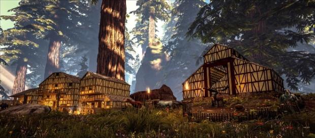 """""""Ark: Survival Evolved"""" screenshot 1."""