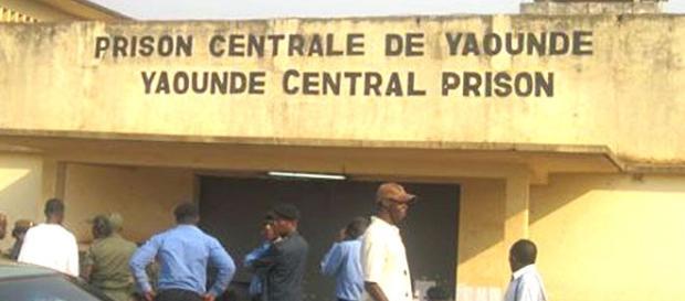Entrée prison centrale de Yaoundé