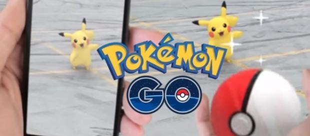 Foto Oficial do aplicativo Pokémon Go