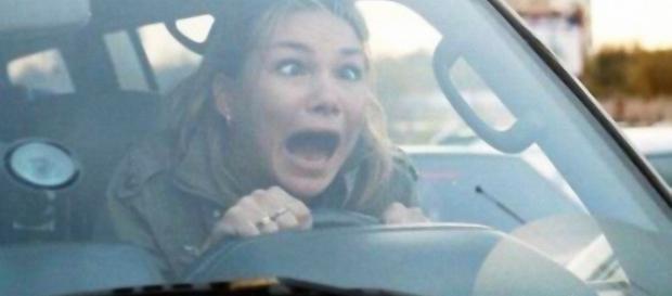 """In Sardegna sfatato il detto """"Donna al volante, pericolo costante""""."""