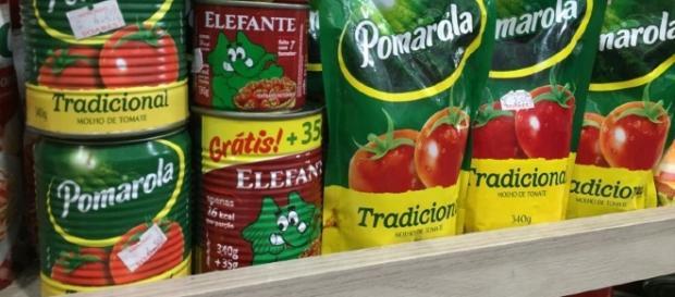 Pelo de roedor encontrado em 5 marcas de extrato de tomate