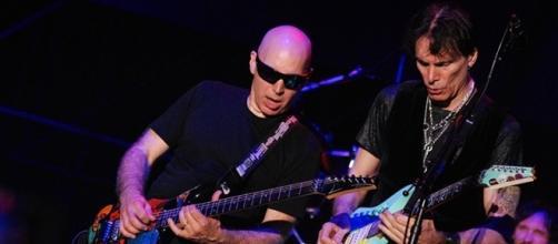 G3 live in Roma - Joe Satriani e Steve Vai