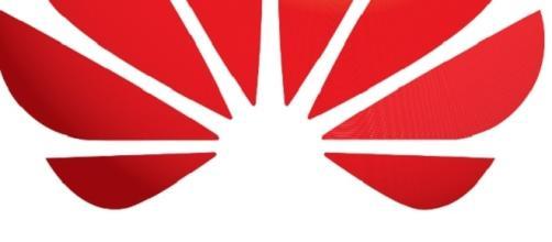 Il logo ufficiale dell'azienda Huawei