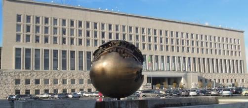 Il palazzo della Farnesina, sede del ministero degli Esteri, a Roma