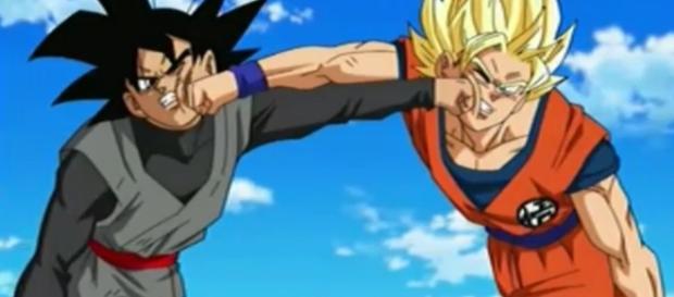Black vs Goku en el episodio 50