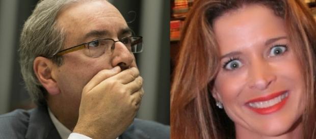Eduardo Cunha chora por causa da mulher
