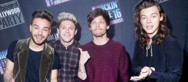 Liam Payne, Niall Horan, Louis Tomlinson y Harry Styles.