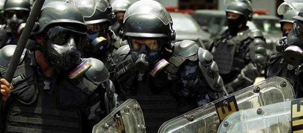 Material levado por ladrões no centro do Rio