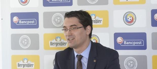 Răzvan Burleanu, președintele FRF. Foto: gsp.ro