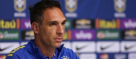 Fernando Prass, goleiro da Seleção Olímpica.